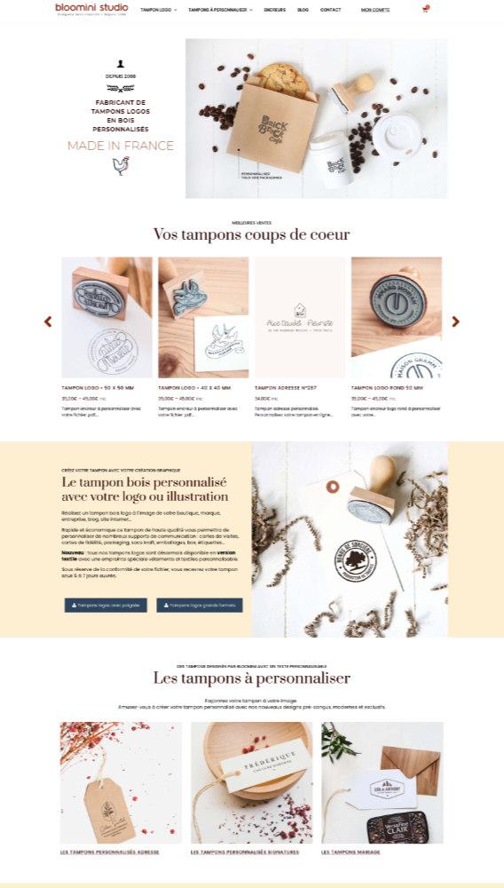 site web woocomerce
