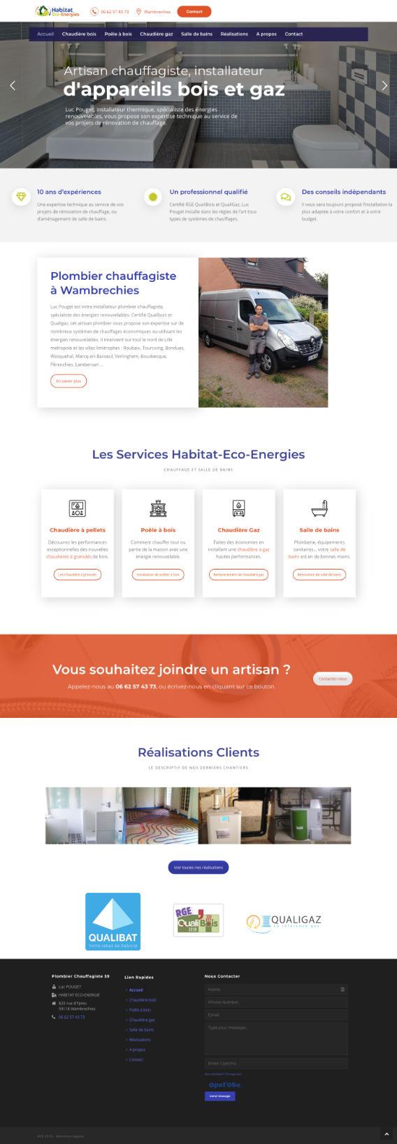 Site WordPress artisan